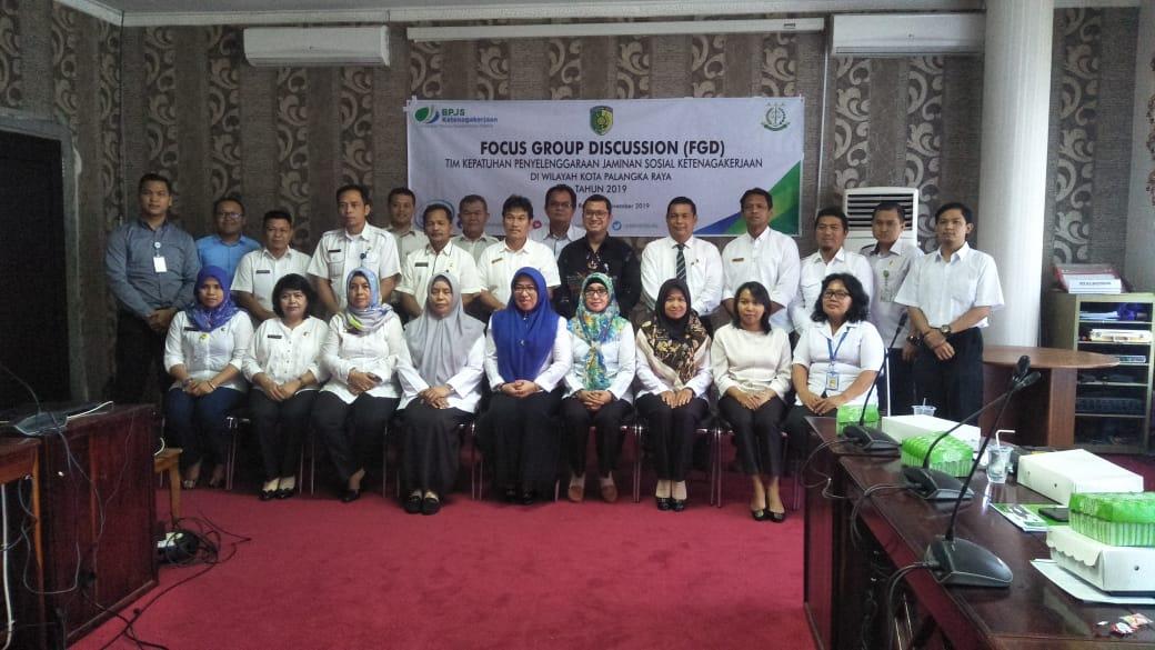 Bpjs Ketenagakerjaan Merupakan Jaminan Sosial Keselamatan Kerja Bagi Tenaga Non Asn Di Lingkungan Pemerintah Kota Palangka Raya
