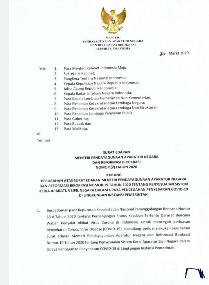 10+ Contoh surat edaran pemerintah terbaru terbaru